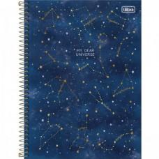 Caderno Universitário Capa Dura 16 Matérias Magic 256 Folhas D