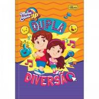 Caderno Brochura Capa Dura 1/4 Maria Clara e JP 80F C