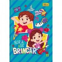 Caderno Brochura Capa Dura 1/4 Maria Clara e JP 80F D