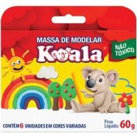Massa de Modelar Koala C/6 Cores