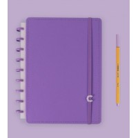 Caderno Inteligente Médio All Purple