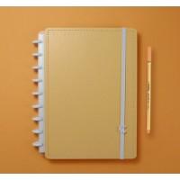 Caderno Inteligente Médio Laranja Pastel