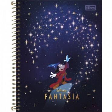 Caderno Colegial Capa Dura 01 Matéria 80 Folhas Mickey A