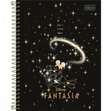 Caderno Colegial Capa Dura 10 Matérias 160 Folhas Mickey B