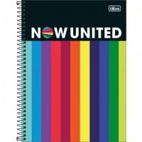 Caderno Universitário Capa Dura 10 Matérias 160 Folhas Now United C