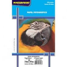 Papel Fotográfico A4 Glossy 180g C/50F Masterprint