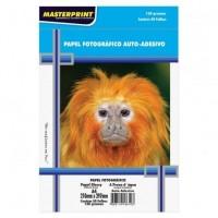 Papel Fotográfico A4 Glossy Adesivo 130g C/50F Masterprint