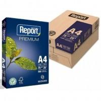 Papel A4 Report Branco 75g C/10 Resmas