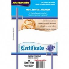 Papel Cartao Masterprint Diplomata A4 180g C/50F – Branco