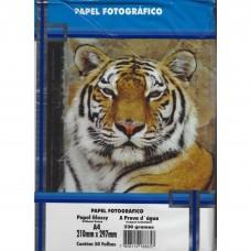 Papel Fotográfico A4 Glossy 230g C/50F Masterprint