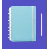 Caderno Inteligente Médio Azul Celeste