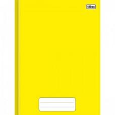 Caderno Brochura Capa Dura 1/4 40F Pepper Amarelo