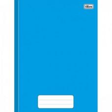 Caderno Brochura Capa Dura 1/4 40F Pepper Azul