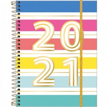 Planner Espiral Grande Be Nice 2021 B