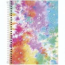 Planner Espiral Grande Good Vibes 2021 B