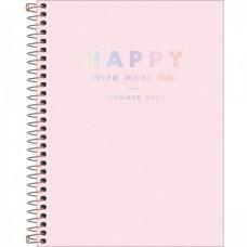 Planner Espiral Grande Happy Rosa 2021