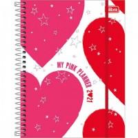 Planner Espiral Grande Love Pink 2021 A