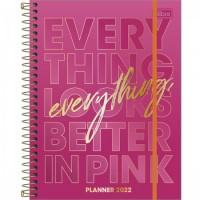 Planner Espiral Grande Love Pink 2022 A