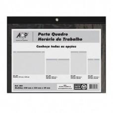 Porta Quadro Horário de Trabalho Horizontal ACP