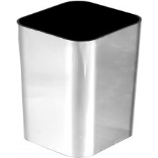 Porta Objetos DelloColor Metalizado Prata