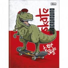 Caderno Brochura Capa Dura Universitário Raptor 80F B
