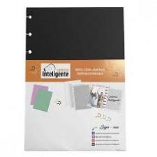 Refil Caderno Inteligente Grande Preto 180g c/10F black