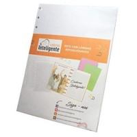 Refil Caderno Inteligente Grande Linhas Brancas 120g c/30F