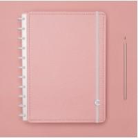 Caderno Inteligente Médio Rose Pastel