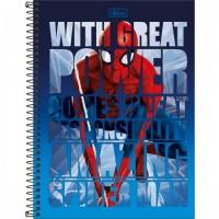Caderno Universitário Capa Dura 10 Matérias Spider-Man 160 F