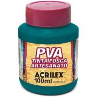 Tinta Fosca PVA Artesanato Acrilex 100 ml Verde Bandeira