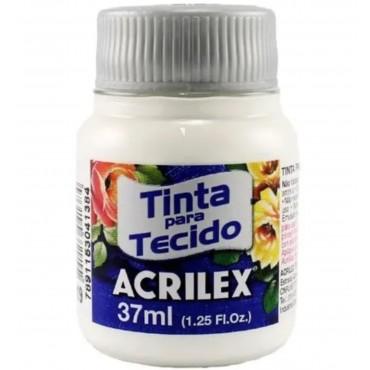 Tinta Tecido 37ml Acrilex - Branco