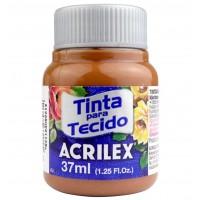 Tinta Tecido 37ml Acrilex - Chocolate