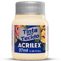 Tinta Tecido 37ml Acrilex - Marfim