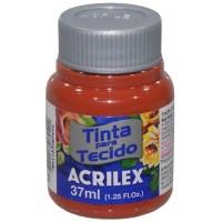 Tinta Tecido 37ml Acrilex - Telha