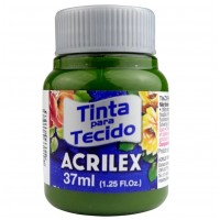 Tinta Tecido 37ml Acrilex - Verde Oliva