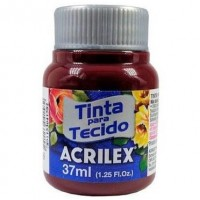Tinta Tecido 37ml Acrilex - Vinho