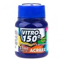 Tinta Vitro 150 37 ml Acrilex - Azul 559