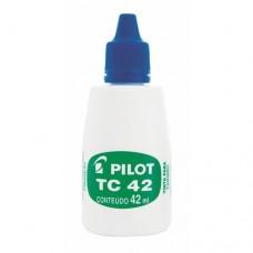 Tinta para Carimbo 42ml Pilot Azul