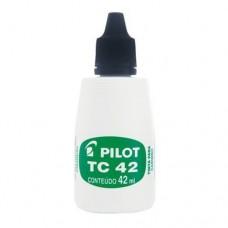 Tinta para Carimbo 42ml Pilot Preta