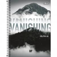 Caderno Universitário Capa Dura 10 Matérias UP 160 Folhas