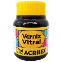 Verniz Vitral 37 ml Acrilex – Amarelo Ouro 505